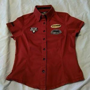Harley Davidson Short Sleeved Shirt